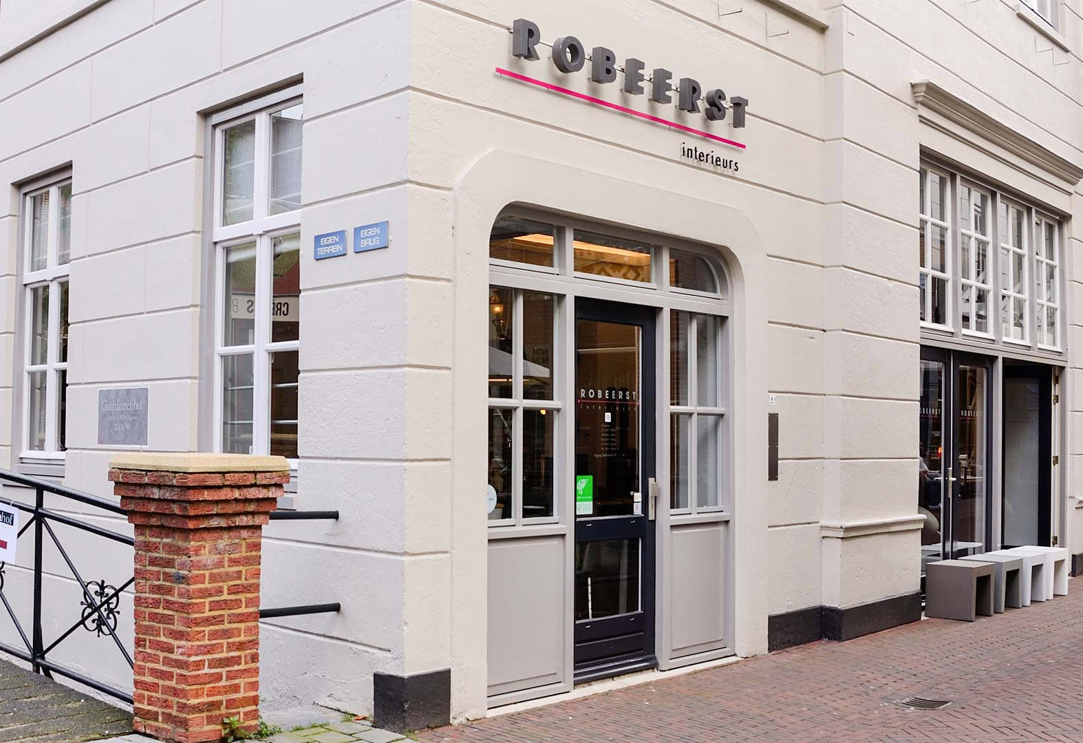 Robeerst showroom snellestraat den Bosch